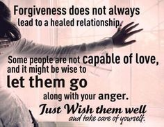 Forgiveness and reconciliation are two different things. You cannot reconcile with an unrepentive person.