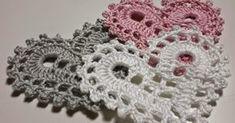 Filet Crochet, Crochet Motif, Crochet Elephant Pattern Free, Free Pattern, Crochet Placemats, Heart Patterns, Dreamcatchers, Love Crochet, Potpourri