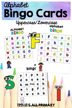 Recognizing the letters and sounds of the alphabet are crucial for teaching children to read. Playing Bingo with your class, is a fun way to reinforce letter names and sounds. Students will practice matching the letters to the names or sounds spoken aloud.