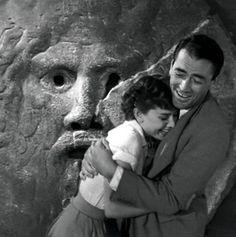 Audrey Hepburn Gregory Peck Roman Holiday 1953