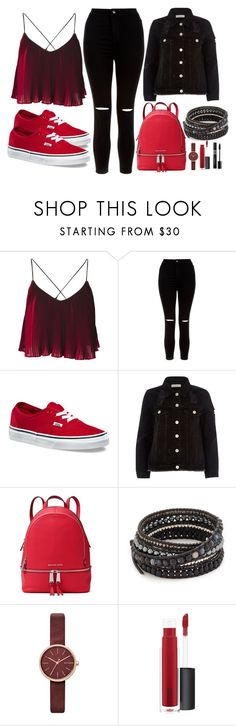 """28"" by thisisalle on Polyvore featuring New Look, Vans, River Island, MICHAEL Michael Kors, Chan Luu, Skagen, John Lewis and Christian Dior"