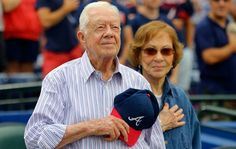 Jimmy and Rosalind Carter