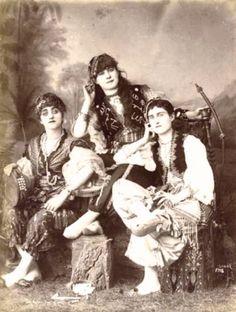 صوره لفتيات من يافا سنة 1877