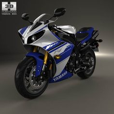 Yamaha R1 2014 3d model from humster3d.com. Price: $75