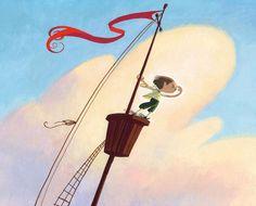 Children's book by Wouter Tulp, via Behance Naive, Art Reference, Childrens Books, Illustrators, Design Art, Concept Art, Cartoons, Behance, Clouds