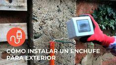 Aprende cómo instalar un enchufe exterior con la seguridad específica que cada lugar requiere.  Aquí te mostramos cuáles son Videos, Container Gardening, Safety, Home, Video Clip