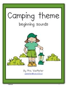 This freebie can be used during literacy stations or as part of a center.  I have included 10 picture cards (camping theme) with four choices of be...