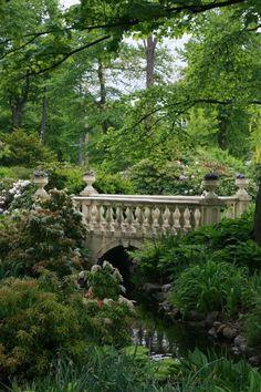 Bridge in the beautiful Garden, Halifax