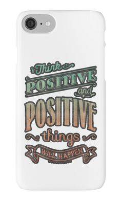 Think Positive by bubbliciousart