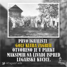 Igralište je otvoreno u lipnju 1931. godine, a prvi predsjednik kluba bio je Miroslav Kulmer. U klubu je tada bilo učlanjeno 80 ljudi, a prvi trener bio je Englez Gilbert Treacher. #ZagrebFacts #Zagreb #ZG #Agram #Maksimir #StariZagreb #Golf