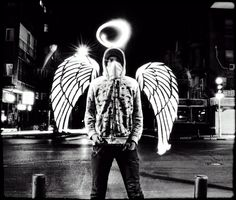 Fallen Angel in the city…    By the LPC crew.