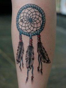 Indian-Dreamcatcher-Tattoos-for-Women