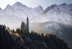 """landscape-photo-graphy: """" Haunting Landscape Photography Inspired by the Brothers Grimm Fairytales by Kilian Schönberger German photographer Kilian Schönberger is deeply inspired by the exquisite and. O Grimm, Brothers Grimm Fairy Tales, Hansel Y Gretel, Neuschwanstein Castle, High Fantasy, Photo Series, Central Europe, Photo Projects, Landscape Photographers"""