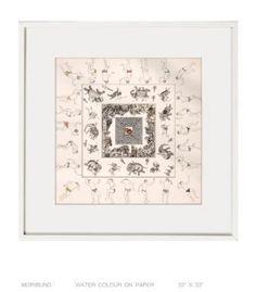 Artist:  CHANDRA NATH SAHA Title:  MORIBUND Medium:  WATER COLOUR ON PAPER Size:  100X100 Exhibition:  50th Annual Exhibition, 2017 Price:  75,000