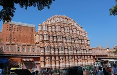 Palast der Winde in Jaipur; Privatreise Nordindien - Yoga und Kultur
