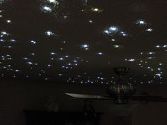 Hi everyone, This is a quick instruction guide on creating a fiber-optic starfield ceiling. The stars have a very natural twinkle & glow. My fiber optic...