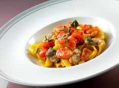 Scialatielli pasta with clams and scorpion fish fricassée