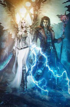 Zayel and Darius / Warhammer 40,000 by Straban