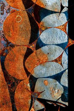 Rust... Looks like fishies