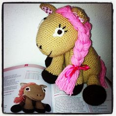 Leila the pony (patroon uit Zoomigurimi 1)
