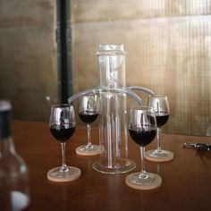 One for All, All for One Wine Dispenser - even fill every time