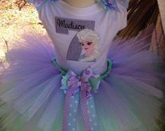 Princess Anna Frozen Birthday Tutu Outfit por BooBooKittyBirthdays