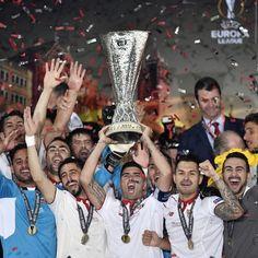 Il #Siviglia vince l'Europa league per la 3° volta consecutiva