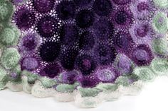 Crochet Pattern Blueberry Blanket