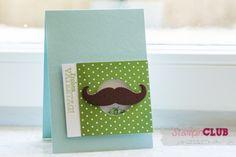 Match the Sketch – Vatertagskarte mit Schnurrbart