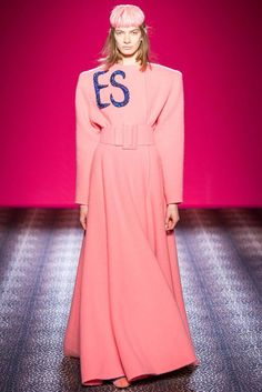 Schiaparelli Autumn Winter 2014/15 - Haute Couture Paris Fashion Show