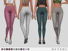 Metens' Victory Leggings