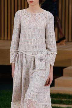 Chanel Haute Couture Spring/Summer '16 ... #Chanel #ChanelCouture #HauteCouture #ChanelCoutureSS16 #SS16 #fashion #CocoChanel