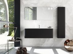 Dansani Curvo provides simplicity and elegance to your bathroom. Check out the beautiful Curvo bathroom furnitures at Dansani and get inspiration for your bathroom. Tall Mirror, Mirror Cabinets, Wet Rooms, Wall And Floor Tiles, Shower Enclosure, Vanity Units, Stone Tiles, Danish Design, Bathroom Furniture