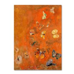Odilon Redon Evocation of Butterflies print for sale. Shop for Odilon Redon Evocation of Butterflies painting and frame at discount price, ships in 24 hours. Cheap price prints end soon. Art Papillon, Oil On Canvas, Canvas Art, Big Canvas, Canvas Size, Odilon Redon, Raoul Dufy, Butterfly Painting, Butterfly Artwork