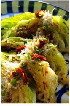 初挑戦☆チャバタと美味しい春キャベツの朝ごはん|レシピブログ