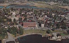 Sydney Aerial View, Sydney, Cape Breton, 1960s | Photographs And Memories of Cape Breton