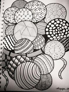 Doodle Patterns 802203752365124882 - Balls of yarn zentangle Balls of yarn zentangle Source by garniernadia Doodle Art Drawing, Zentangle Drawings, Mandala Drawing, Zentangles, Zen Doodle Patterns, Doodle Art Designs, Zentangle Patterns, Dibujos Zentangle Art, Stippling Art