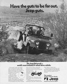 #Jeep CJ #ad from 1971