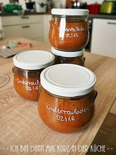 Konservierung Von Lebensmitteln, Preserving Food, Canning Recipes, Mole, Preserves, Pickles, Meal Prep, Salsa, Mason Jars