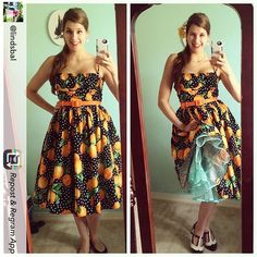 Repost from the super cute @lindsbal showing off her Malco crinoline and sweet smile!  #malcomodes #myMalcoModes #petticoat #crinoline #fashion #pinupstyle #vintagestyle #outfit #summerfashion #cute