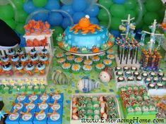 under the sea baby shower Baby Shower Cakes For Boys, Boy Baby Shower Themes, Baby Boy Shower, Under The Sea Theme, Under The Sea Party, Baby Shower Party Supplies, Baby Shower Parties, Baby Showers, Little Mermaid Parties