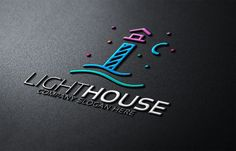 Lighthouse Logo by eSSeGraphic on Creative Market