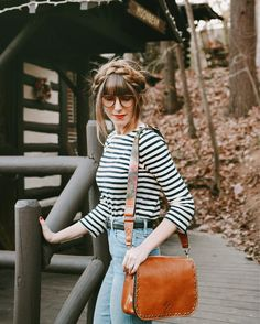 Total heart eyes for this @Macys crossbody  the straps are interchangeable!  Sharing more Asheville pictures on the blog (link in profile)  more about this Patricia Nash bag via liketoknowit.it! http://liketk.it/2q0rf @liketoknow.it #liketkit #macyslove