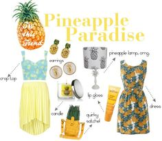 pineapple print everything!