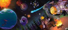 Video Game Art, Video Games, Wild Tattoo, Dragon Artwork, Alien Worlds, Landscape Wallpaper, Epic Games, Game Design, Game Art