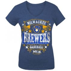 Find the  Misses' Milwaukee Brewers Tee - Royal by  at Mills Fleet Farm.  Mills has low prices and great selection on all Women's Sports Apparel.