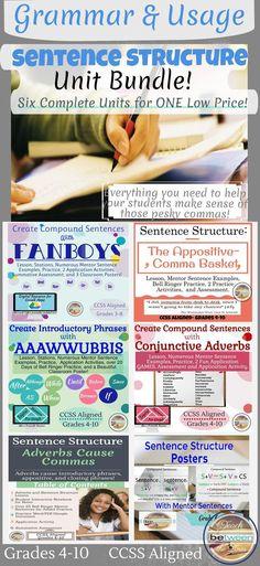 1540 Best Grammar/Punctuation/Usage (ELA 7-12) images in