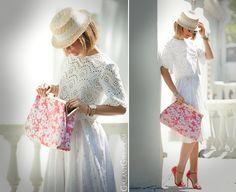 stella mccartney crochet clutch outfit on fashion blogger galant girl