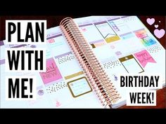 Plan With Me - My Birthday Week!