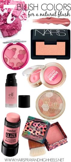 7 Blush Colors For A Natural Flush! #beauty #makeup #tips - http://bellashoot.com